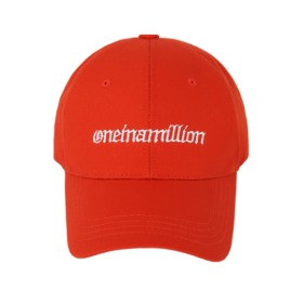 [원인어밀리언] ball cap Red Osean